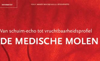 Medische molen - screenshot artikel Uitgerekend jij