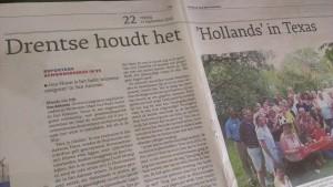 Drentse Gea Nunn houdt het Hollands in Texas