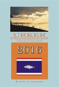 Urker Spreukenkalender 2016